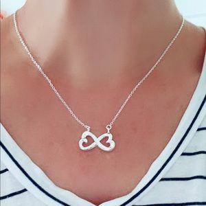 Jewelry - Infinity love silver necklace